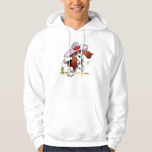 Basset Got Drool? Hooded Sweatshirt