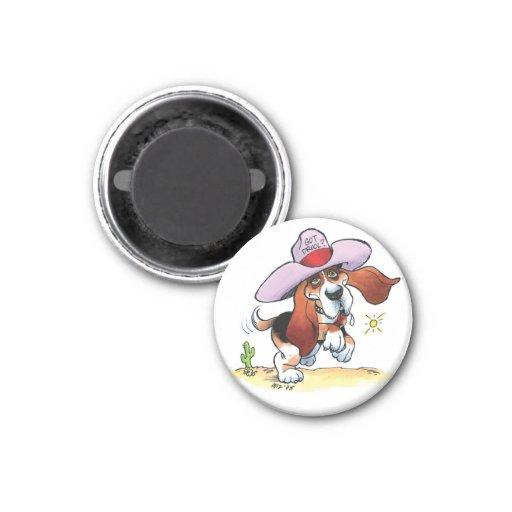 Basset Got Drool? Small Magnet