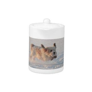 Basset Griffon Vendéen, Grand Puppy Dog Teapot