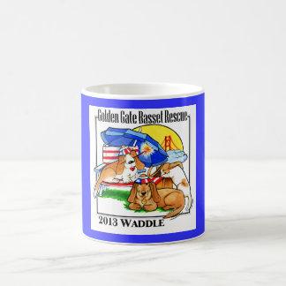 Basset Hound 2013 Waddle Mug