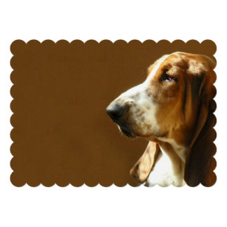 basset-hound-3 custom invitations
