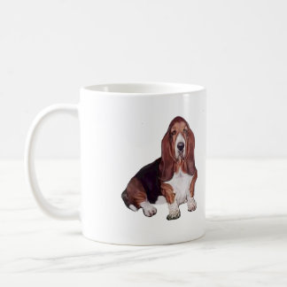 Basset Hound (A) Coffee Mug