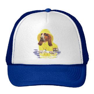Basset Hound April Showers Trucker Hat