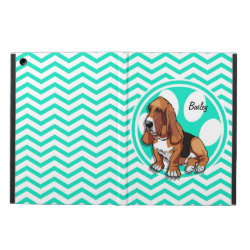 iPad Air Powis Case with Basset Hound Phone Cases design