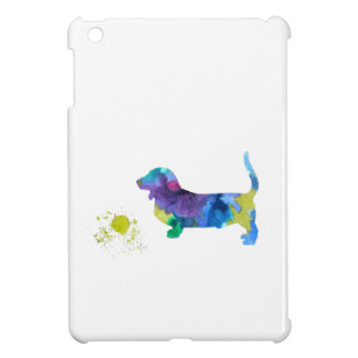 Basset hound art iPad mini cases