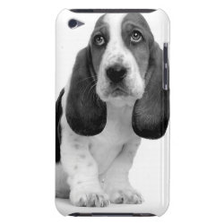 Case-Mate iPod Touch Barely There Case with Basset Hound Phone Cases design