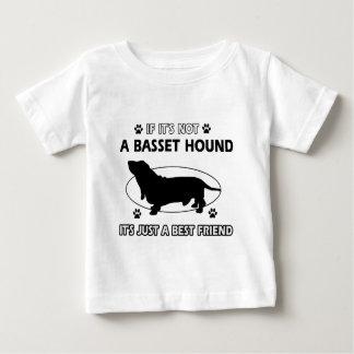 BASSET HOUND best friend designs Baby T-Shirt