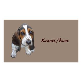 Basset Hound Breeder Business Card