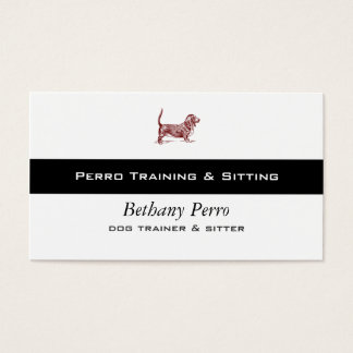 Basset Hound Business Card