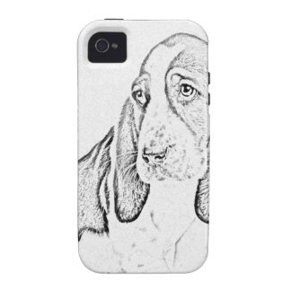 Basset hound iPhone 4 covers