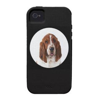 """Basset Hound"" Case-Mate iPhone 4 Cases"