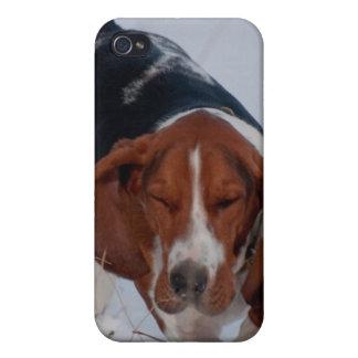 Basset Hound Case 1 iPhone 4 Cases