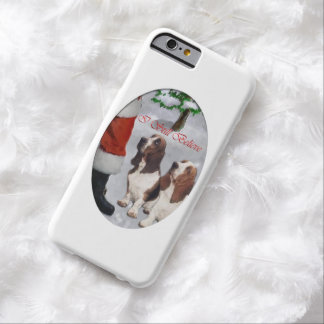 Basset Hound Christmas Barely There iPhone 6 Case