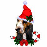 Basset Hound Christmas Gifts Ornament Photo Cutouts