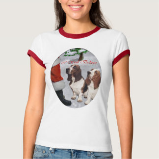 Basset Hound Christmas Gifts T-Shirt