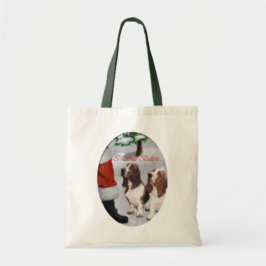 Basset Hound Christmas Gifts Tote Bag