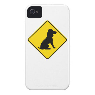 Basset Hound Crossing iPhone 4 Case-Mate Cases