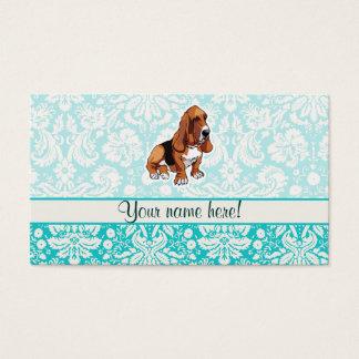 Basset Hound; Cute Business Card