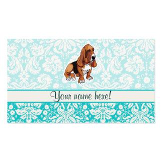 Basset Hound; Cute Business Card Templates