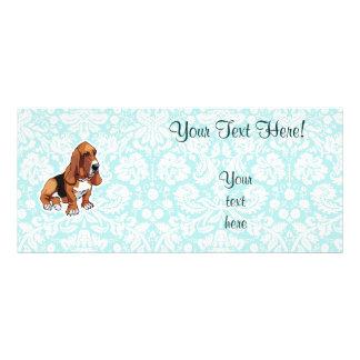 Basset Hound; Cute Rack Card