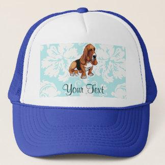 Basset Hound; Cute Trucker Hat