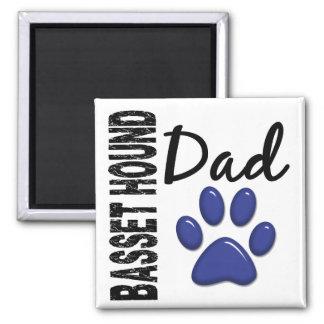 Basset Hound Dad 2 Magnet