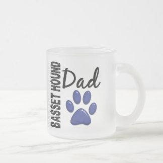 Basset Hound Dad 2 Coffee Mugs