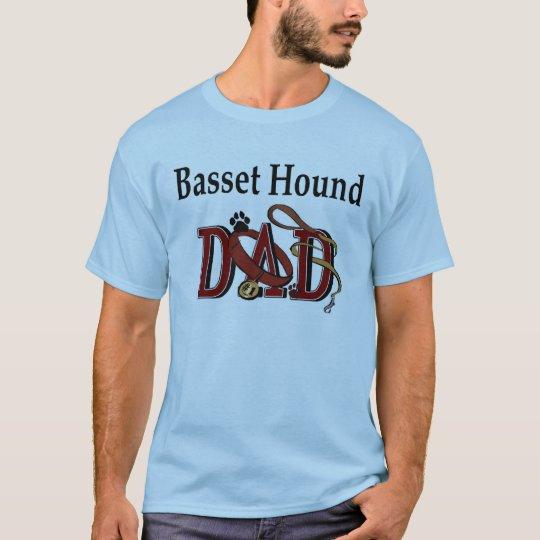 Basset Hound Dad Apparel T-Shirt