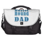 Basset Hound Dad Commuter Bags