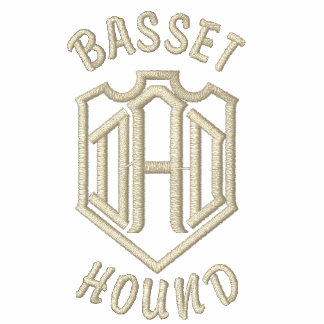 Basset Hound Dad Gifts Polo