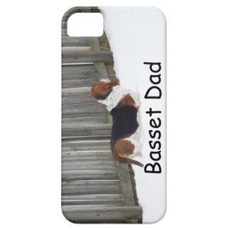 Basset Hound Dad iphone case. iPhone 5 Cases