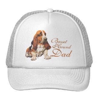 Basset Hound Dad Trucker Hat