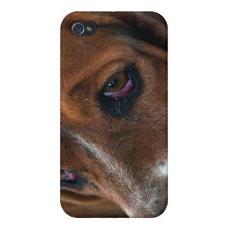 Basset Hound Design iPhone 4 Case