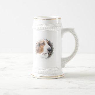 Basset Hound Dog Beer Stein Mugs