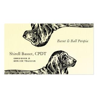 Basset Hound Dog Business Business Card
