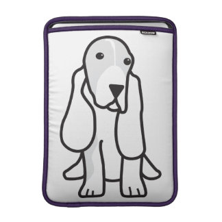Basset Hound Dog Cartoon Sleeve For MacBook Air
