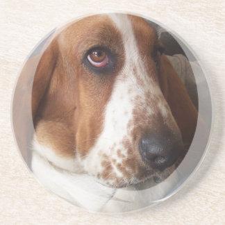 Basset Hound Dog Coasters