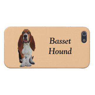 Basset Hound dog cute photo custom iphone 5 case