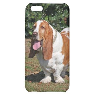 Basset hound dog cute photo iphone 5c case, gift