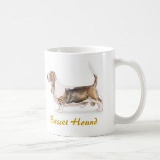 Basset Hound, Dog Lover Galore! Classic White Coffee Mug