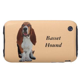 Basset Hound dog photo custom iphone 3G case mate