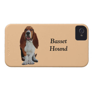 Basset Hound dog photo custom iphone 4 case mate