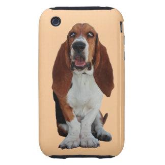 Basset Hound dog photo iphone 3G case mate