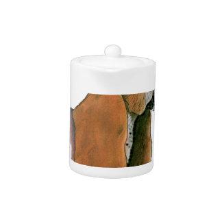 Basset Hound Dog, tony fernandes Teapot