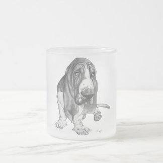 Basset Hound Drawing Coffee Mug