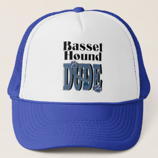 Basset Hound DUDE Trucker Hat