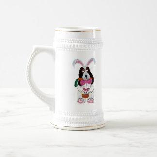 Basset Hound Easter Bunny Mug