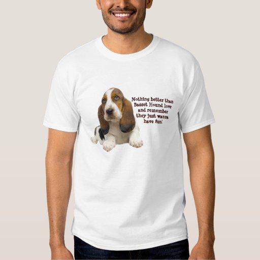 Basset Hound Fabulous Face Unisex Shirt