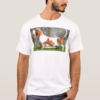Basset Hound full.png T-Shirt