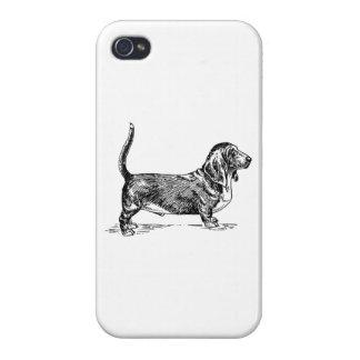 Basset Hound iPhone 4 Fundas
